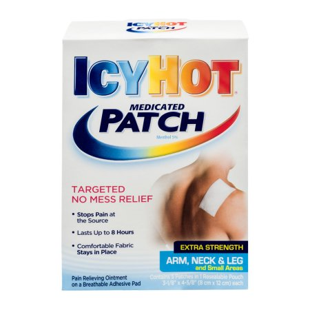 Icy Hot Extra Strength Medicadas Parches 5 qt