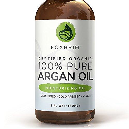 MEJOR orgánica aceite de argán para el pelo, cara, piel y uñas - 100% puro certificado orgánica aceite de argán - garantizada para proporcionar maravillosamente saludables, ricos en nutrientes humedad... Conocido como oro líquido para la enorme lista de a