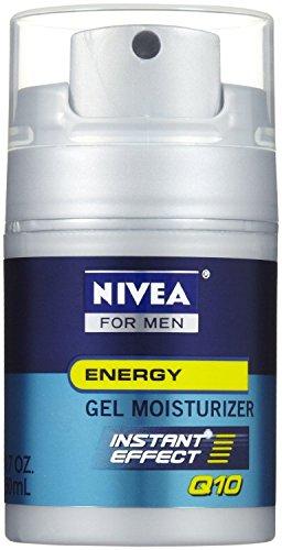 Nivea for Men Q10 Energy Gel hidratante, 1.7 Oz (paquete de 3)