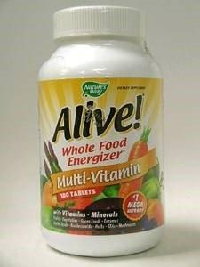 Naturalezas manera vivas! Todo alimento Energizer multi vitaminas-180 tabletas - pack - 1