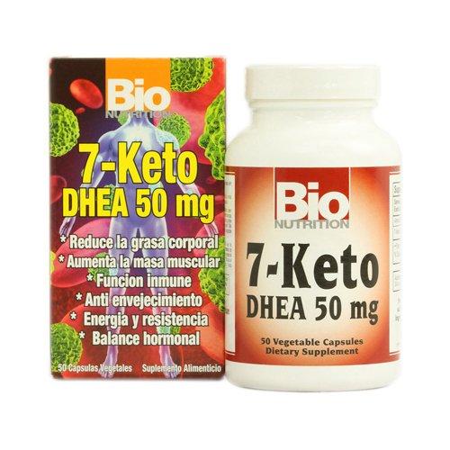 Bio nutrición 7 Keto Dhea 50 Mg - 50 cápsulas vegetarianas