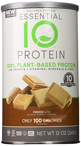 Diseño de la proteína proteína esencial proteína vegetal suplemento, Choco-amor, 12 onzas
