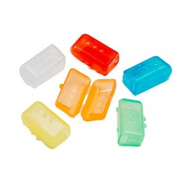 5 cepillo de dientes higiene antibacteriana cubiertas