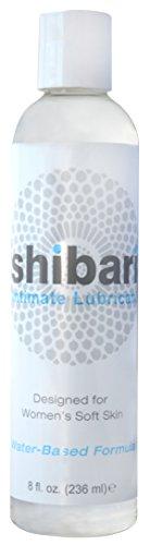 Lubricante íntimo de Shibari Premium, ultra suave, a base de agua, botella de 8 oz