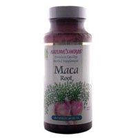 Raíz de Maca de hierbas de la naturaleza, 500 mg, 100 cápsulas