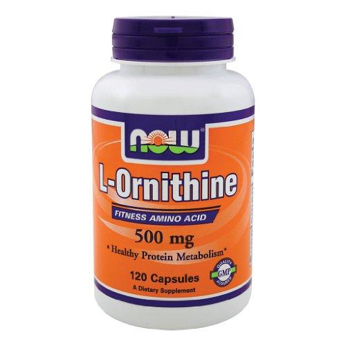Ahora alimentos L-ornitina 500 mg - 120 Caps