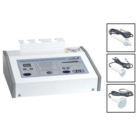 Pro 3 MHz ultrasonido ultrasónico anti envejecimiento de la piel de belleza facial de la máquina del salón del balneario