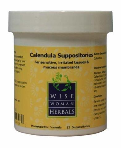 Sabia mujer Herbals - caléndula supositorios 12ct (F)