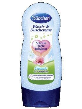 Bubchen Bübchen clásico lavado de & la ducha crema con 1/3 bebé loción 230ml / 7.78 FL. oz