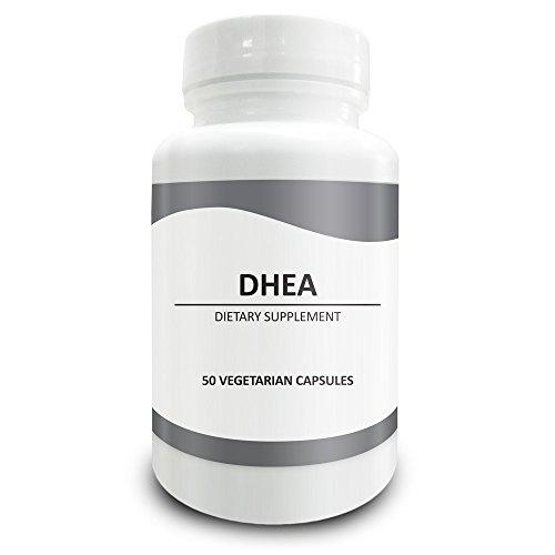 Pura ciencia DHEA (dehidroepiandrosterona) 100mg - mejora la circulación sanguínea, aumenta la energía, regula la testosterona y los niveles de estrógeno - 50 cápsulas vegetarianas