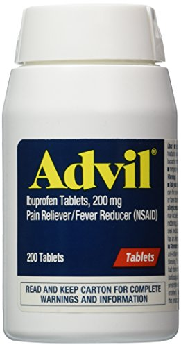 Advil tabletas - 200ct