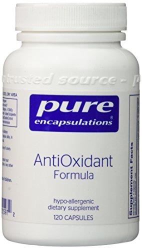 Pura fórmula de antioxidantes encapsulados - 120 cápsulas