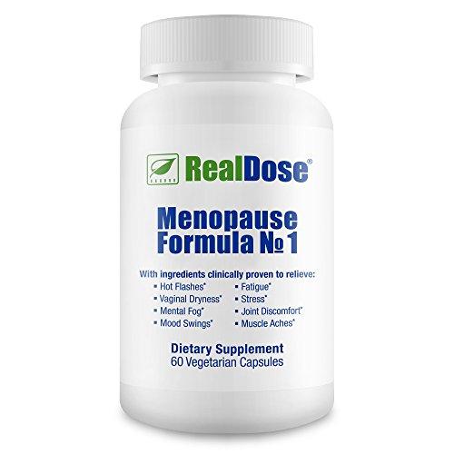 Médico formulado menopausia alivio suplemento - la menopausia vitaminas para la menopausia y la hormona de soporte Premium, bochornos, sudores nocturnos, cambios de humor, pérdida de cabello, Libido y memoria - 60 cápsulas vegetarianas