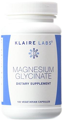 Klaire Labs - magnesio glicinato de sodio 100 mg 100 vcaps