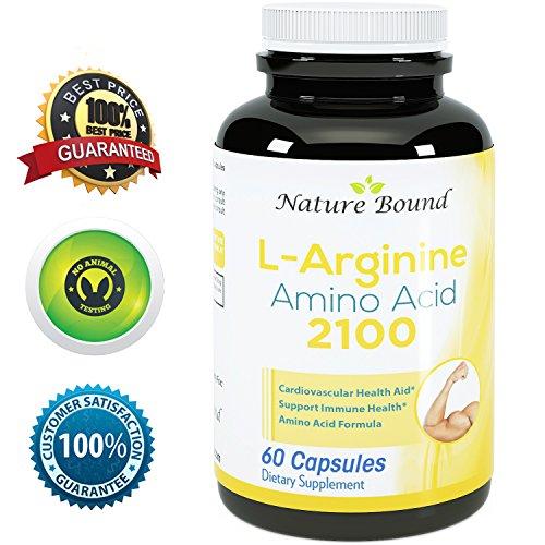 ★ 100% pura L-arginina ★ Premium fórmula de aminoácidos para pre-trabajo - el óxido nítrico ayuda ★ 1000 mg por cápsulas - garantizada por naturaleza limitados