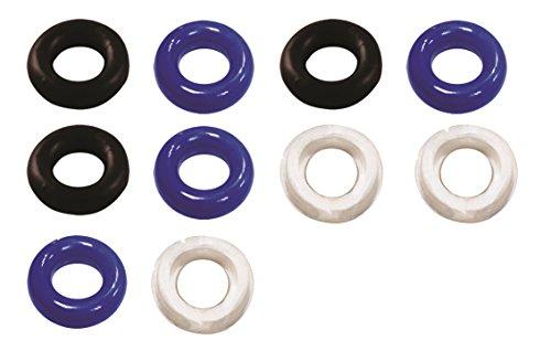 Eforstore caliente sueño masculino ventas Essentials 10 loco PC impermeable silicona pene Cockrings anillo-anillo del martillo Control de retardo