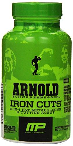 Músculo Pharm Arnold Schwarzenegger serie hierro cortes, 90 cápsulas