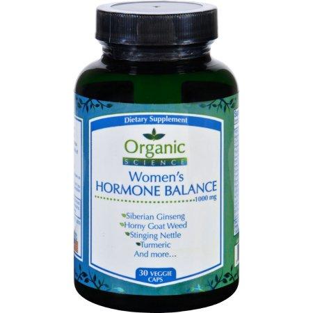 Organic Science Equilibrio Hormonal para mujer - 30 cápsulas vegetales
