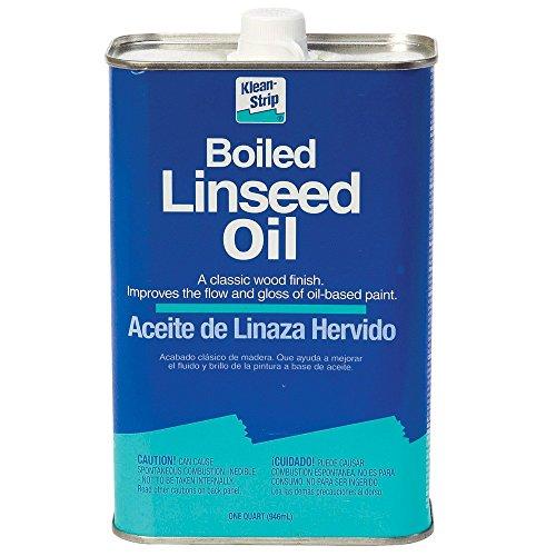 Aceite de linaza hervido