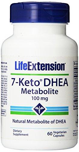 Vida extensión 7-Keto DHEA 100 Mg, 60 cápsulas vegetarianas