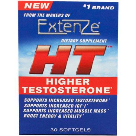 ExtenZe HT Superior de testosterona Cápsulas suplemento dietético, 30 de recuento