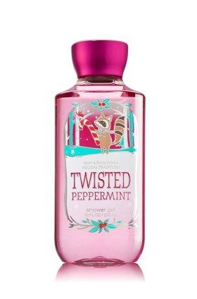 Gel de ducha de baño cuerpo obras Twisted Peppermint 2014