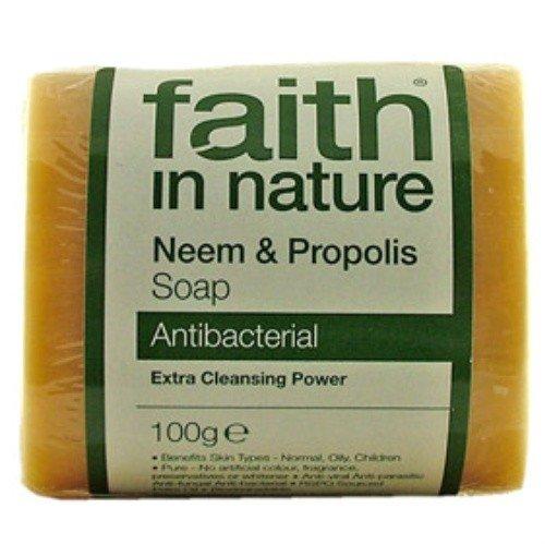 Fe en la naturaleza - Neem y jabón de propóleo puro Veg | 100g