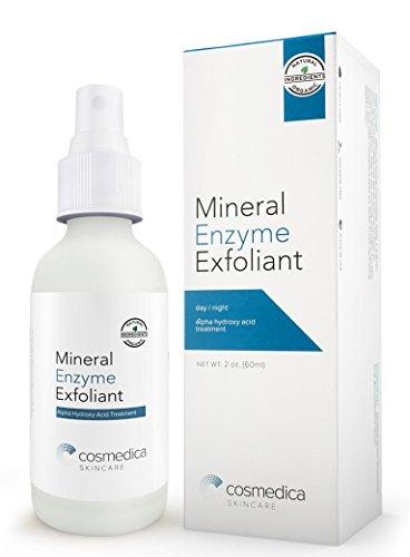 Cosmedica Skincare enzima Mineral exfoliante para muertas de la piel, maquillaje y las impurezas