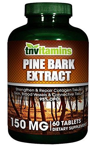 Extracto de corteza de pino 150 Mg. - 60 comprimidos