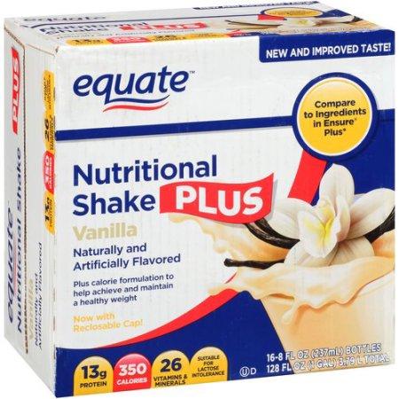 Vainilla Nutritional Shake Plus 8 onzas fluidas 16 ct