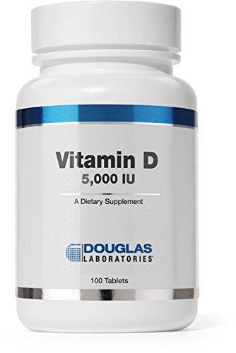 Douglas Laboratories ® - vitamina D (5000 IU) - 100 fichas