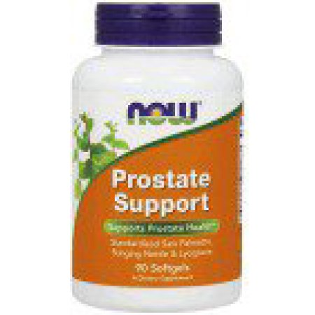 Soporte de próstata NOW Alimentos 90 Softgel