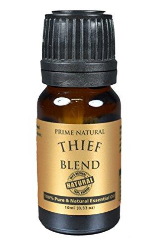 Ladrón aceite esencial mezcla 10ml (nuestra versión de aceite esencial de los ladrones de vida joven y sobre protector aceite de esencial de Doterra) 100% Natural puro y no diluido calidad aromaterapia y esencias