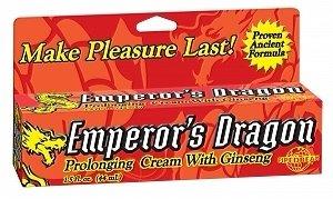 Dragon prolongar crema W/Ginseng (paquete de 3)
