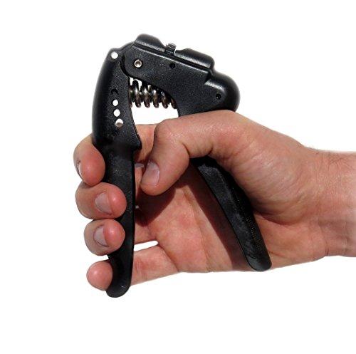 De la mano agarre fortalecedor con rango ajustable de la resistencia de 22 a 88 libras aumento mano muñeca dedo antebrazo fuerza-ejercitador para mano músicos atletas y ejercicio de rehabilitación