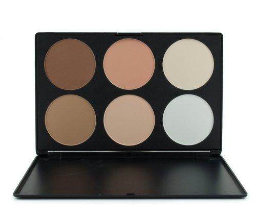 ieasysexy color de mejillas profesional 6 colores contorno cara energía Fundación colorete corrector camuflaje base maquillaje paleta