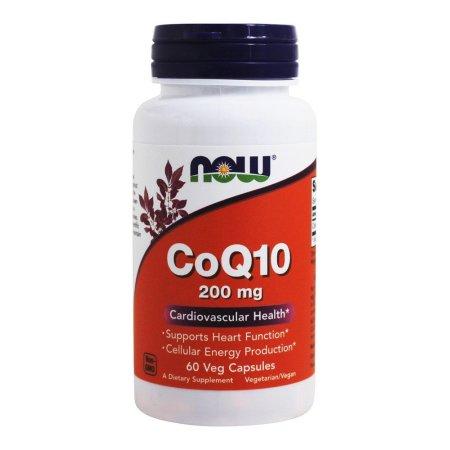 NOW Alimentos - Salud Cardiovascular 200 mg de CoQ10. - 60 cápsulas vegetales