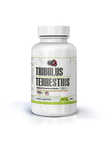 Extracción de pura nutrición USA Tribulus Terrestris 1000mg tabletas testosterona Booster Enhences muscular crecimiento Libido energía Sexual salud 45% saponinas 100 Tabs