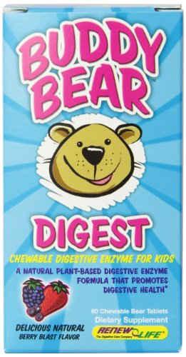 Renovar la vida multi-enzimas Digest comprimidos, amigo oso, cuenta 60