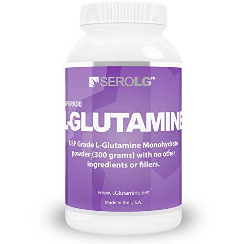 L glutamina en polvo 300 gramos Super fino, sin sabor