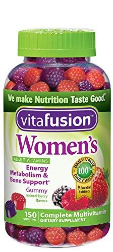 Gomoso de Vitafusion las mujeres, baya Natural sabores, cuenta 150