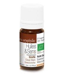 Huiles & Sens - brote de clavo esencial aceite (bio) - 15 ml [Cuidado Personal]