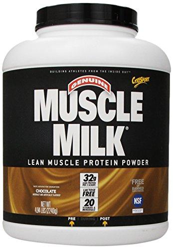 Polvo de proteína de músculo magro muscular CytoSport leche, Chocolate, libra 4,94