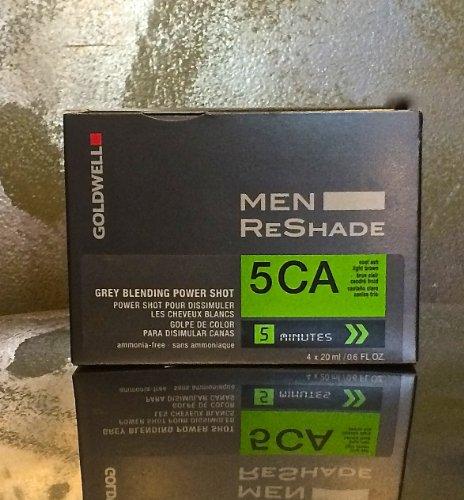 Goldwell para hombres ReShade, gris mezcla Power Shot, 5CA, enfriar la ceniza marrón claro, amoniaco