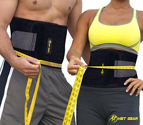 Ab Trimmer cinturón para adelgazar por HBT engranaje Fitness (con Bonus)