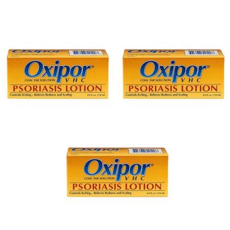 3 Pack  VHC Loción Psoriasis - 4 Oz (ayuda a detener la psoriasis)