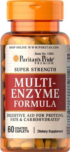 Pride fuerza Super enzima Multi-60 cápsulas de Puritan