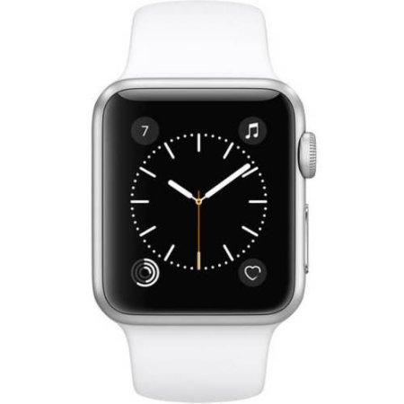 Apple Serie 1 del reloj, la caja de 38 mm de aluminio con banda deporte