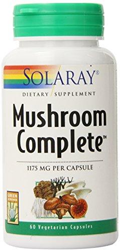 Solaray seta completa suplemento, 1175 mg, cuenta 60