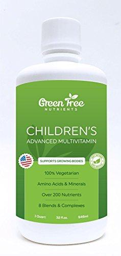Orgánica avanzada líquido multi-vitamina completa nutrición infantil - 16 oz